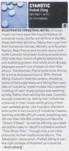 cyanotic outburn